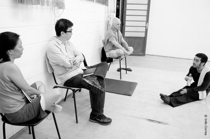 Hideki Matsuka ( Arquiteto, Diretor de Arte), Ricardo Iazzetta ( Coreógrafo e Dançarino)