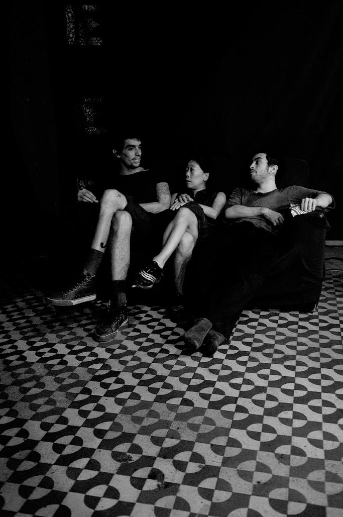 Felipe Ribeiro ( Músico), Key Sawao ( Corógrafa e Dançarina), Eduardo Fukushima