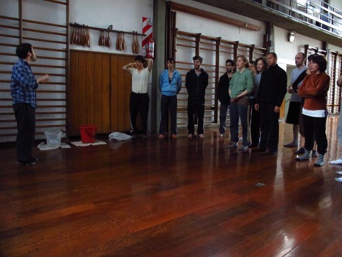 Workshoop in Buenos Aires 2011.