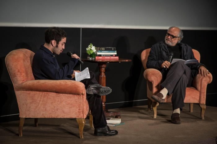 Eduardo Fukushima e Homi Bhabha Rolex Arts Weekends