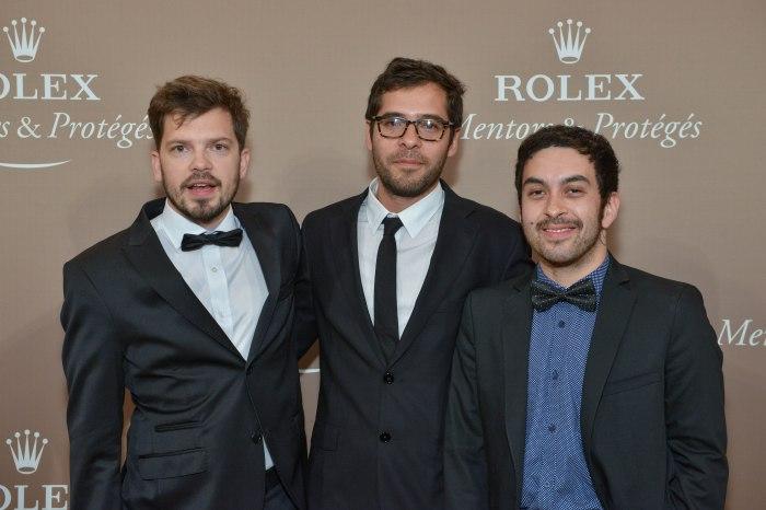 Rolex Gala Presentation at Fenice in Venice, 2013 Michal Borczuch, Mateo Lopez e Eduardo Fukushima.