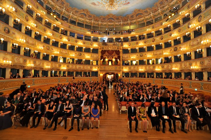 Rolex Gala Presentation at Fenice in Venice, 2013